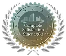Complete Customer Satisfaction since 1982