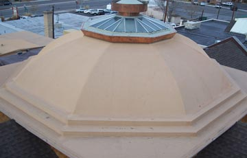 Montrose United Methodist Church Restoration Project, Specialty Dome Roof