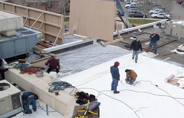 Montrose Memorial Hospital Re-Roof Restoration Project